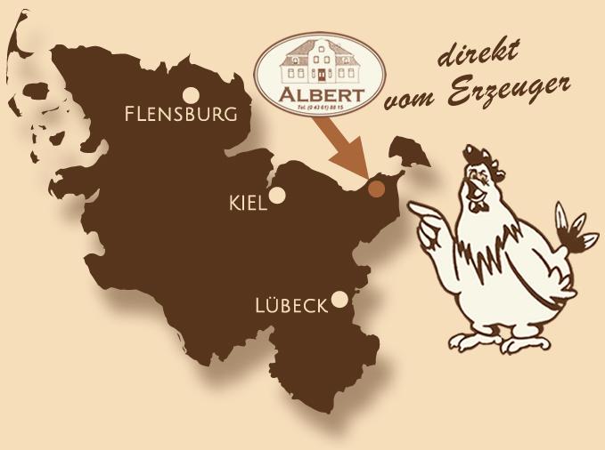 Karte - Ostholstein - Bauernmarkt Albert